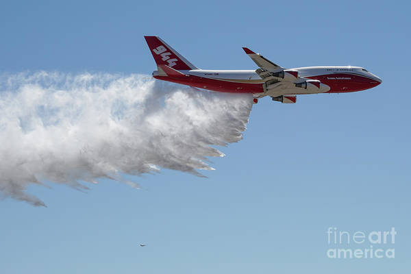 747 Supertanker Drop Poster