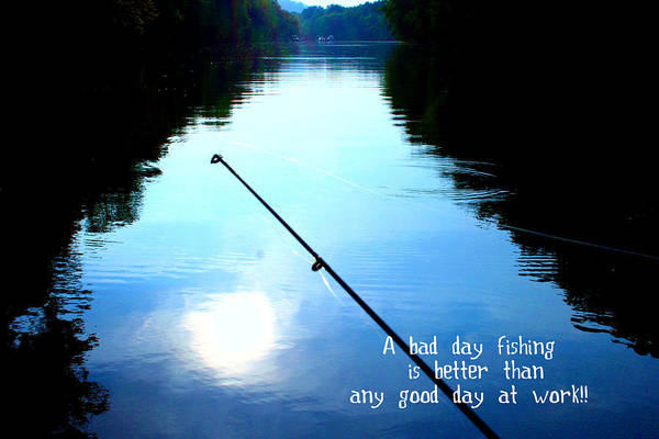 A Bad Day Fishing Poster