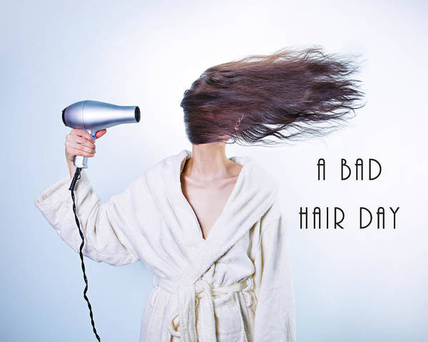 A Bad Hair Day Poster