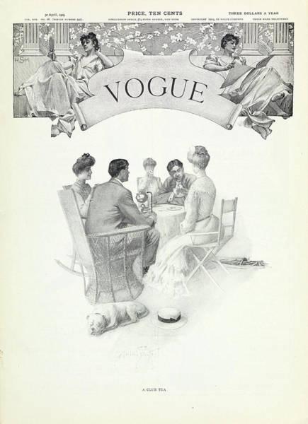 A Club Tea Poster