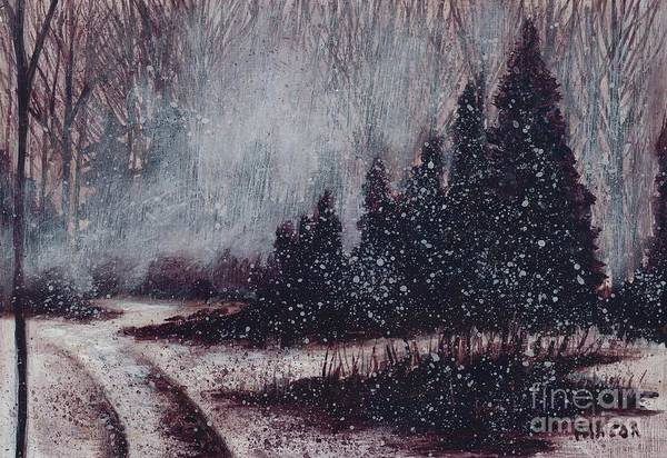 A Hazy Shade Of Winter  Poster