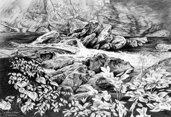 A Hiker's View - Landscape Print Poster