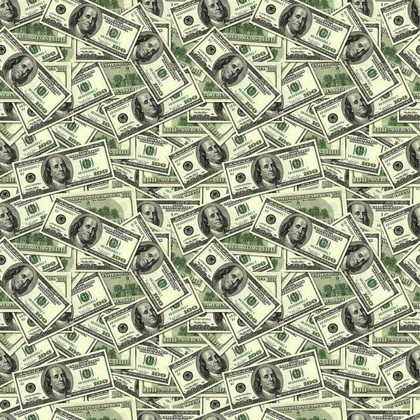 A Hundred Dollar Bill Banknotes Poster