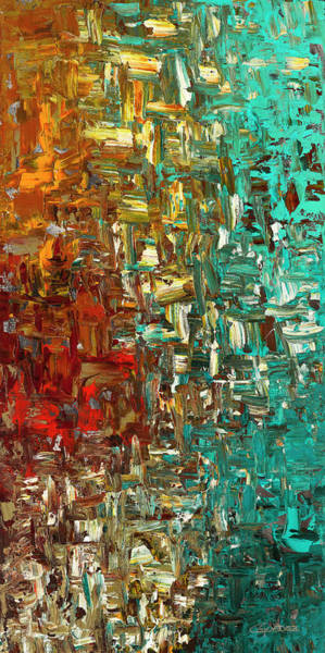 A Moment In Time - Abstract Art Poster