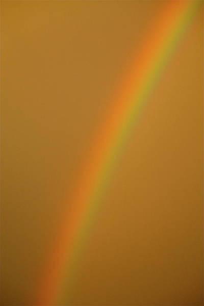 A Sunset Rainbow Poster