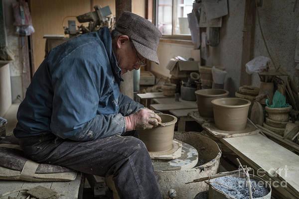 A Village Pottery Studio, Japan Poster