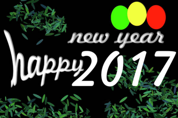 About New Year Poster