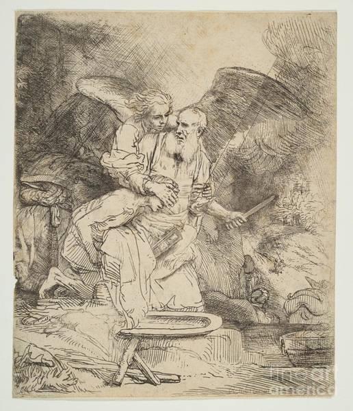 Abraham's Sacrifice Poster