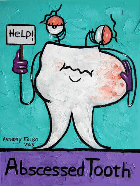 Abscessed Tooth Poster