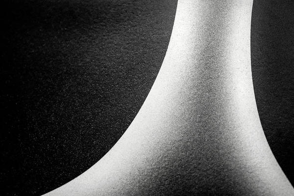 Abstract-black And White Poster