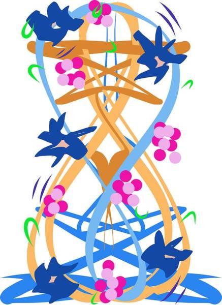 Abstract Garden #3 Poster