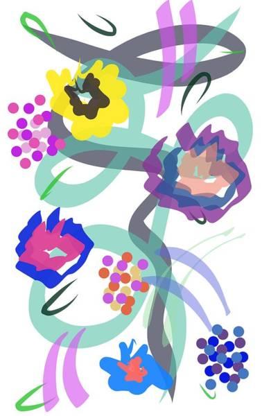 Abstract Garden Nr 4 Poster
