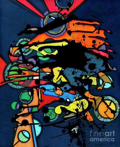 Abstract Man  Poster