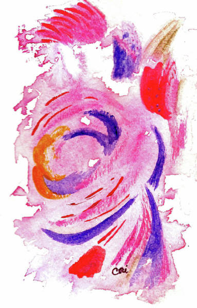 Abstract Pink Poster