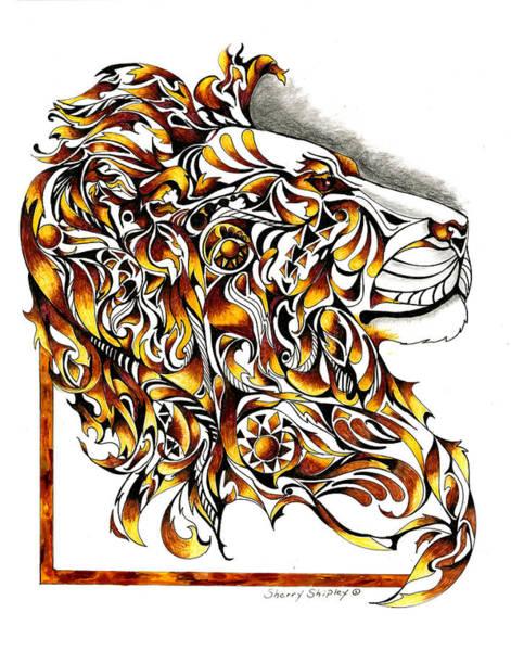 African Spirit Poster