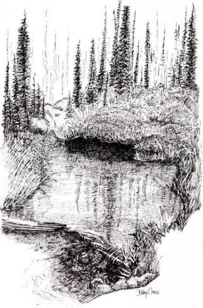 Alaska Pond Poster