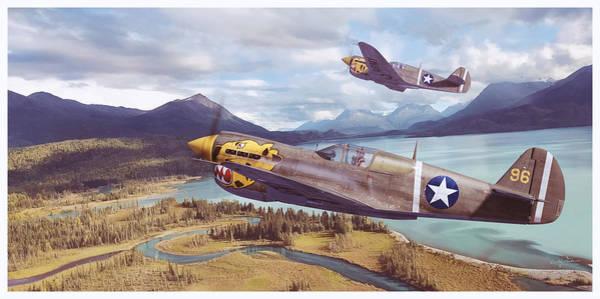 Alaskan Tigers Poster