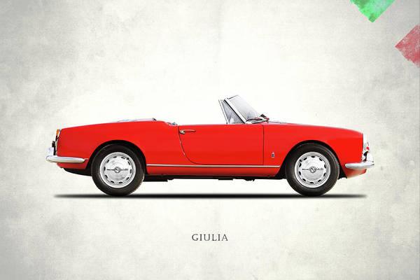Alfa Romeo Giulia 1964 Poster