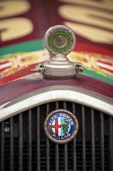 Alfa-romeo Hood Ornament Poster