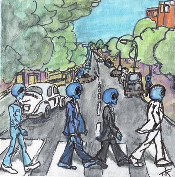 Alien Road Poster