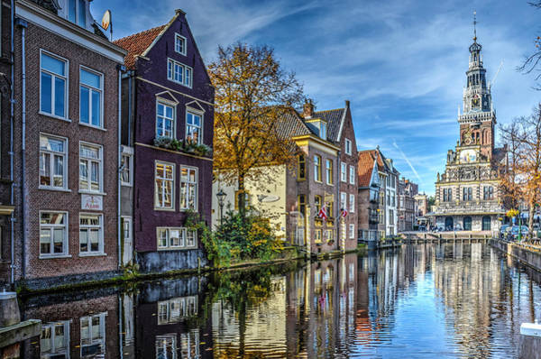 Alkmaar From The Bridge Poster