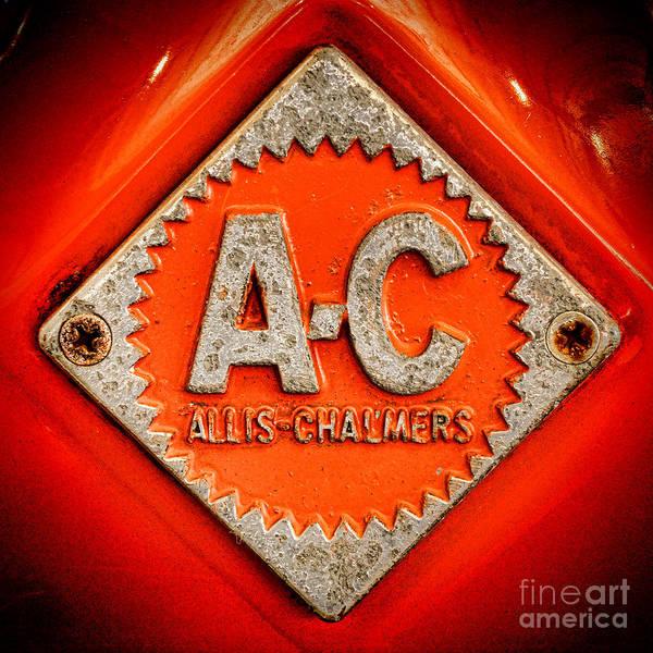 Allis Chalmers Badge Poster
