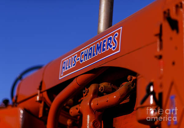 Allis-chalmers Vintage Tractor Poster