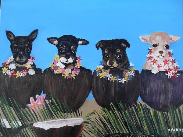 Aloha Teacup Chihuahuas Poster