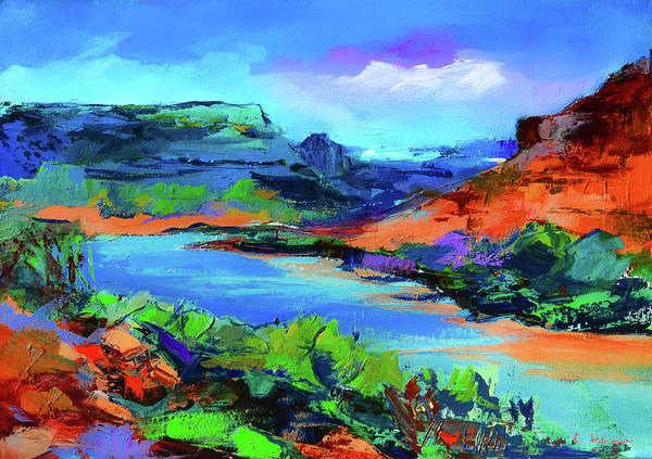 Along Colorado River - Utah Poster