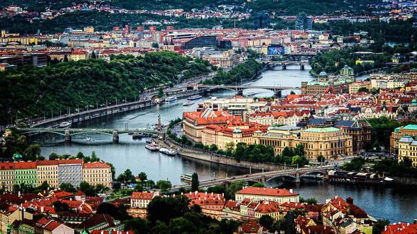Along The Vltava River Poster