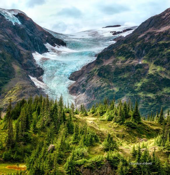 Alpine Glacier 40x40 Poster