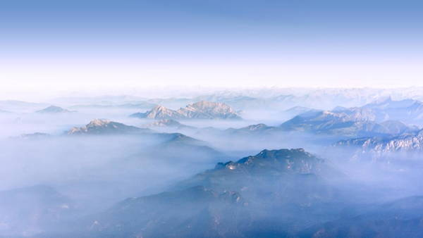 Alpine Islands Poster