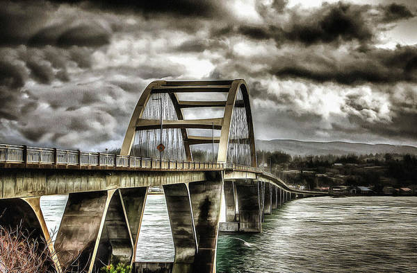 Alsea Bay Bridge Poster