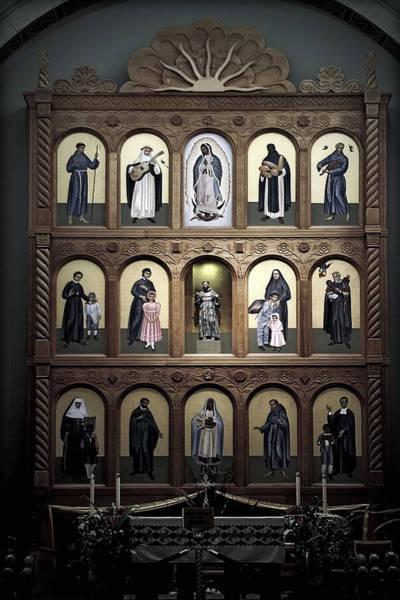 Altar Screen Cathedral Basilica Of St Francis Of Assisi Santa Fe Nm Poster
