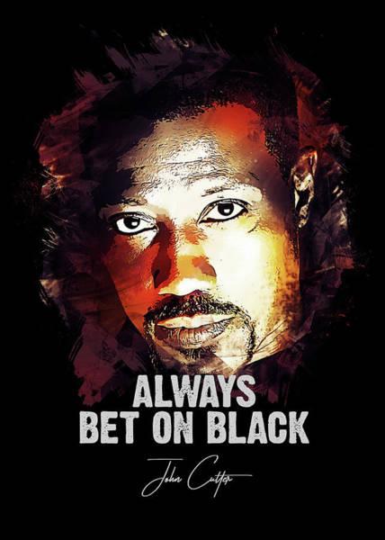 Always Bet On Black - Passenger 57 Poster