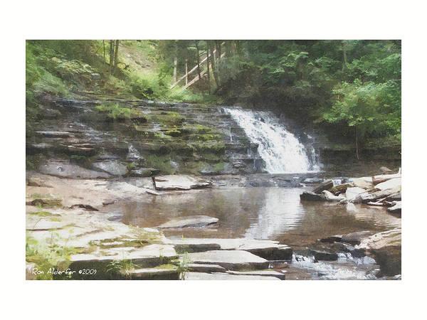 Amanda's Waterfall Poster