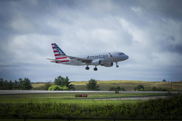 American Airlines Airbus 319 N9015d Art Poster