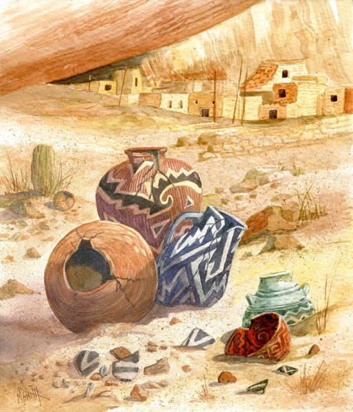 Anasazi Remnants Poster