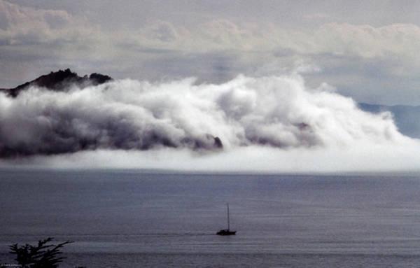 Angel Island Fog Poster