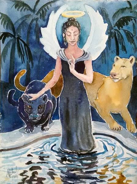 Angel Of Balance And Harmony Poster