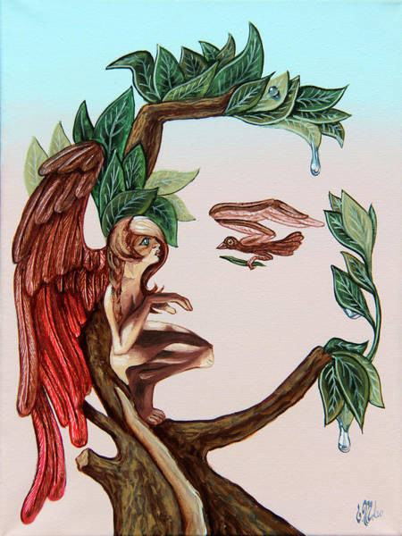 Angel, Watching The Reincarnation Of Marilyn Monro. Op.2769 Poster