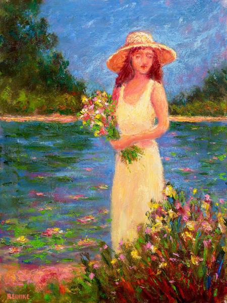 Anne's Garden Pond Poster