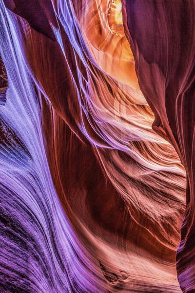 Antelope Canyon Air Glow Poster