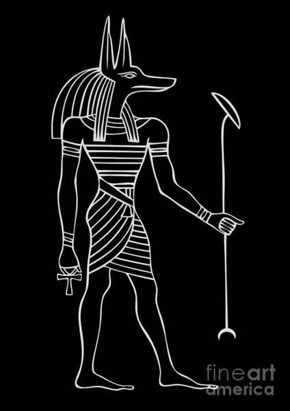Anubis - God Of Ancient Egypt Poster