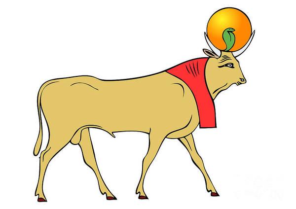 Apis - Egyptian Sacred Bull Poster