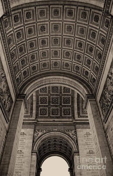 Arc De Triomphe Interior Poster