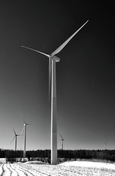 Arcade Wind Turbines 6557 Poster