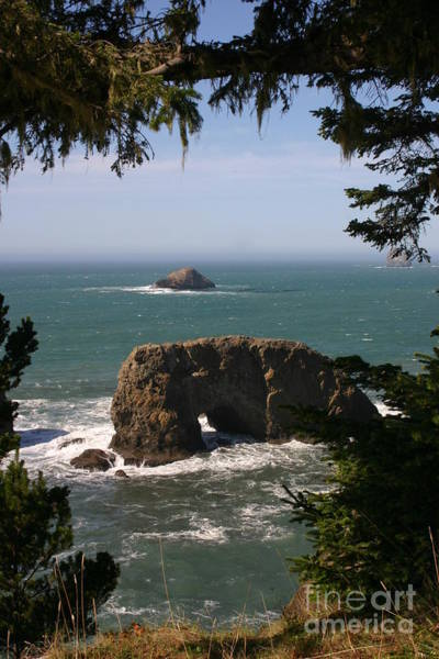 Arch Rock View Poster