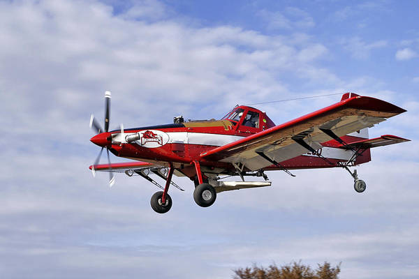 Arkansas Razorbacks Crop Duster Poster