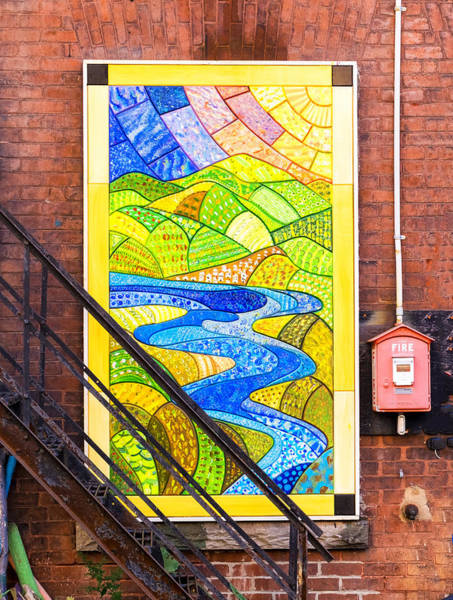 Art And The Fire Escape Poster